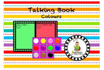 Talking Book Colours Page