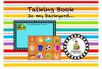 Talking Book In My Backyard I Have Page