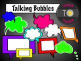 Speech Bubbles {TeacherToTeacher Clipart}