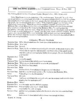 Talking Earth Literature Guide