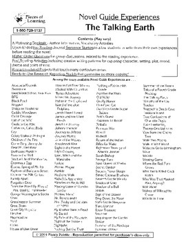Talking Earth Literature Guide