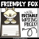 Fox Craft Activity (Fox Craftivity)