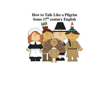 Talking Like a Pilgrim