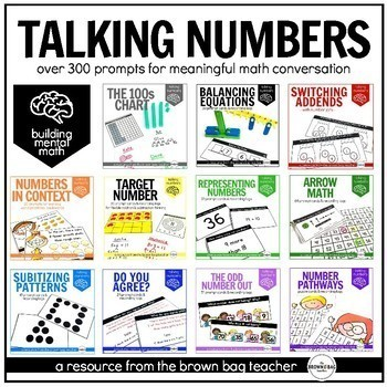 Talking Numbers Bundle: Building Mental Math in Primary Learners