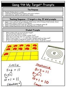 Talking Numbers Bundle: Building Mental Math in Primary Learners