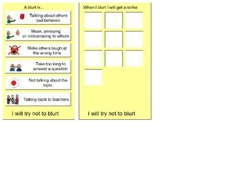 Talking Out Visual and Self Monitoring Tool