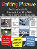 Speaking Activity Cards {Accidents ESL Listening & Speaking}