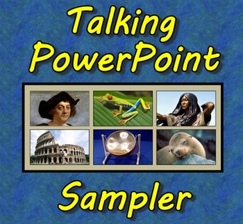 Talking PowerPoint Sampler