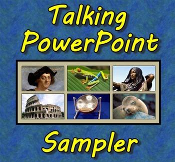 Talking PowerPoint Sampler