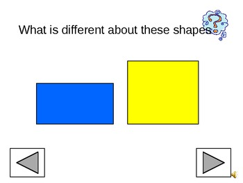 Shape Book - Interactive with Voice Over
