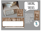 Talking Shelves - A collection of shelf talkers to promote lit!