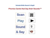 Talking Sound Walls: Phonics Cards that Say their Sounds!