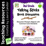2nd Grade Reading Discussion Activity and Task Cards with