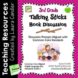 3rd Grade Reading Discussion Activity and Task Cards with