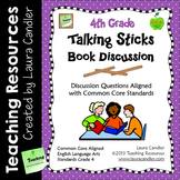 4th Grade Reading Discussion Activity and Task Cards with