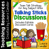 Talking Sticks Cooperative Learning Discussion Strategy wi