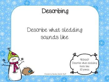 Talking Through A Winter Language Land!