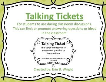 Talking Tickets