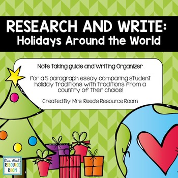 Research and Write: Holidays Around the World