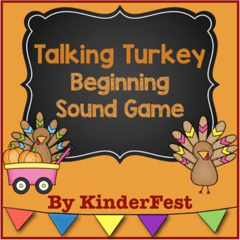Talking Turkey - Beginning Sound Game