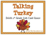 Talking Turkey Dolch 1st Grade Sight Words Game