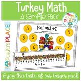 Thanksgiving Turkey Math Freebie
