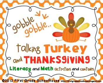 Thanksgiving Literacy and Math Activities and Centers