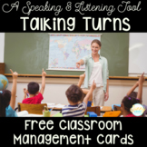 Talking Turn Cards- Tools for Speaking and Listening and C