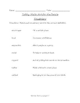 Talking Walls: Art for the People (Scott Foresman Reading Street)