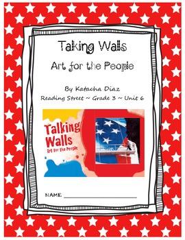 Talking Walls CCSS Comprehension Booklet Reading Street Unit 6