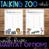 Talking Zoo Unit