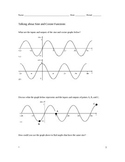 Talking about Sine and Cosine Functions