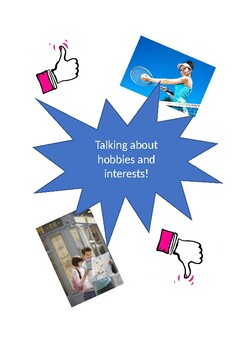 Talking about hobbies and interests - Lesson Plan