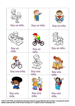 Talking about myself in Spanish - activity sheets
