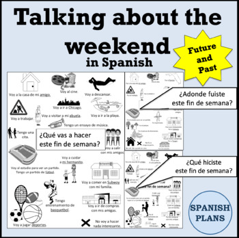 Talking about the Weekend in Spanish