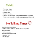 Talking and No Talking Times Poster