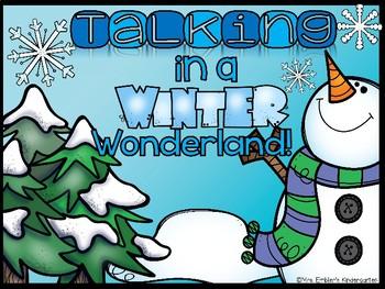 Talk Moves--Talking in  a Winter Wonderland