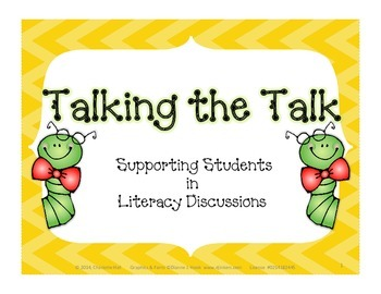 Talking the Talk - Accountable Talk Stems for Literacy Discussions