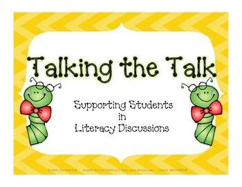 Talking the Talk - Accountable Talk Stems for Literacy Dis