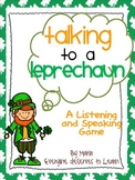 St. Patrick's Day Speaking and Listening Game