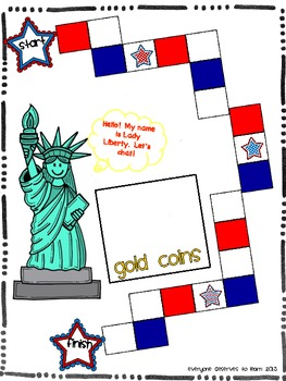 Statue of Liberty Speaking and Listening Game