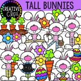 Tall Easter Bunnies {Creative Clips Clipart}