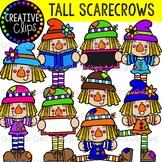 Tall Scarecrows {Creative Clips Clipart}