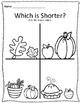 Tall & Short Fall Measurement Worksheets