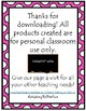 Tall & Short Valentine's Day Measurement Worksheets
