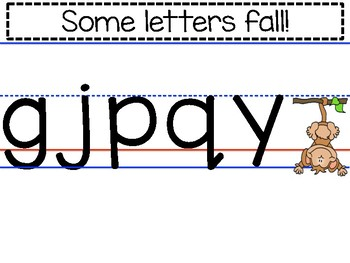 Tall, Small, Fall letters