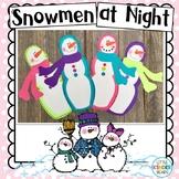 Snowmen at Night Winter Craft