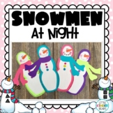 Snowmen at Night Book Buddy Winter Craft & Writing Activity