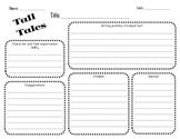 Tall Tale Elements Worksheet