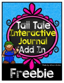 Tall Tale Interactive Journal Add In